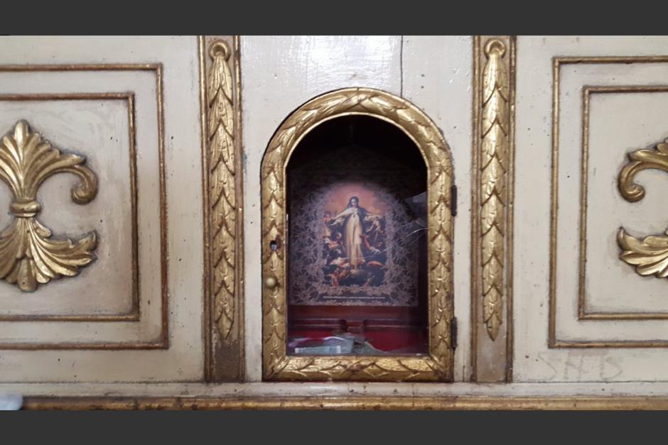 En horas de la tarde se reportó el hurto de las reliquias de los Mártires Mercedarios. (Foto: Twitter/@SacStarNews)