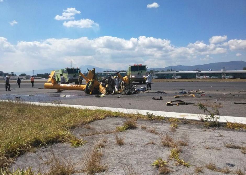 Según Bomberos Municipales, el accidente dejó cuatro muertos. (Foto: Emisoras Unidas)