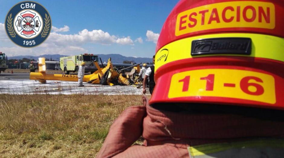 El aparato no explotó ni prendió en llamas. (Foto: Bomberos Municipales)