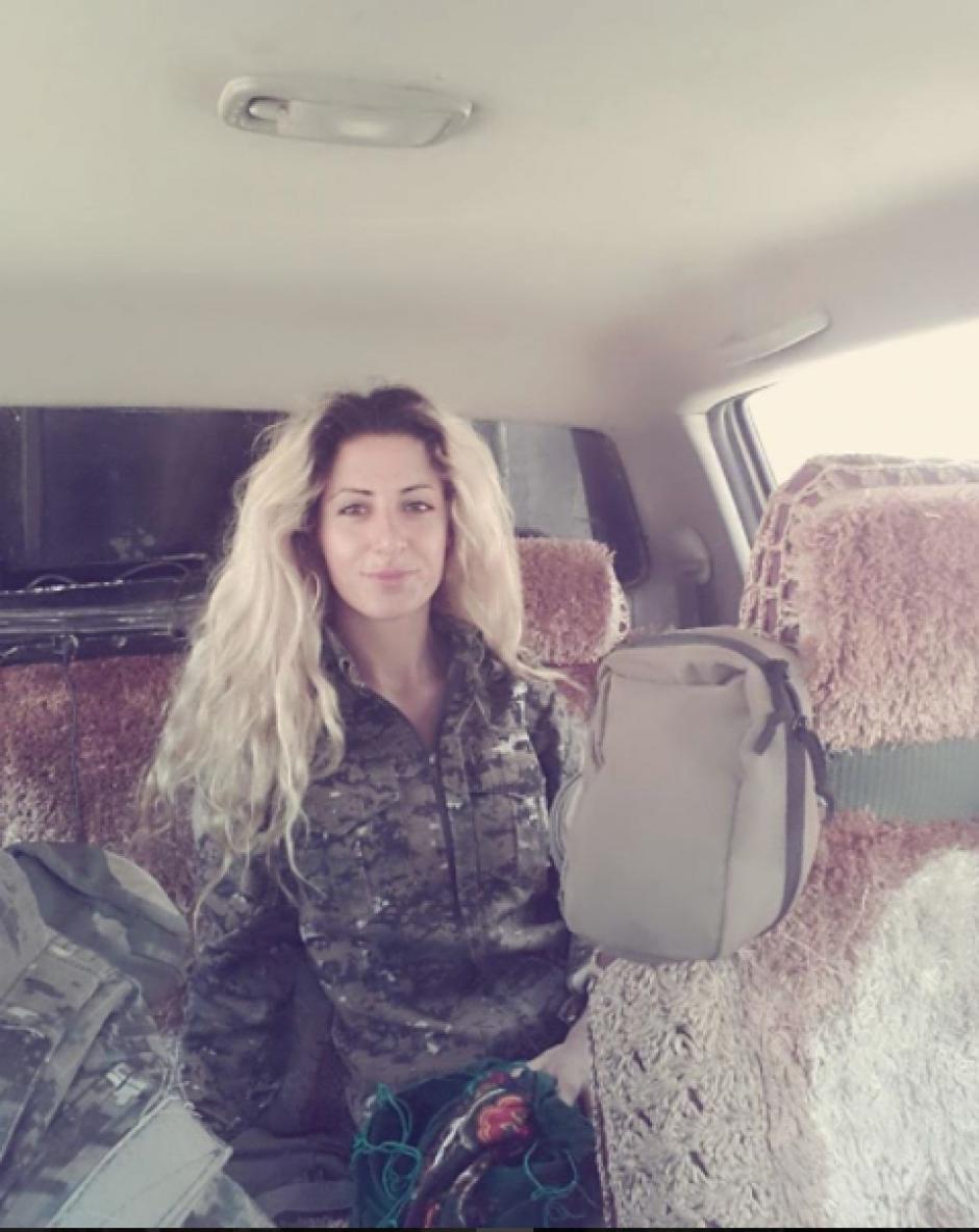 Según Joanna, ISIS quiere capturarla para convertirla en esclava sexual. (Foto: Instagram, joannapalani2)
