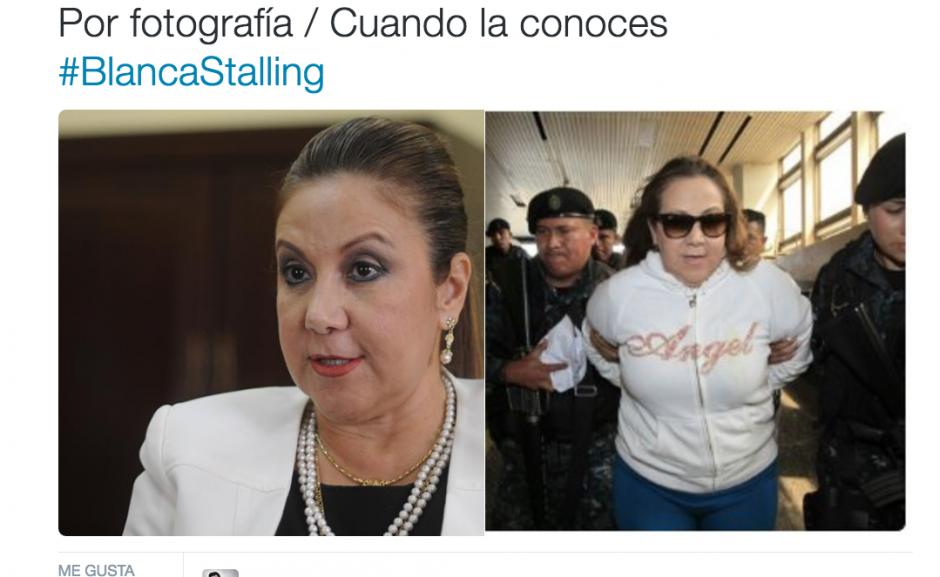 Con ropa deportiva y una peluca fue detenida. (Foto: Twitter)