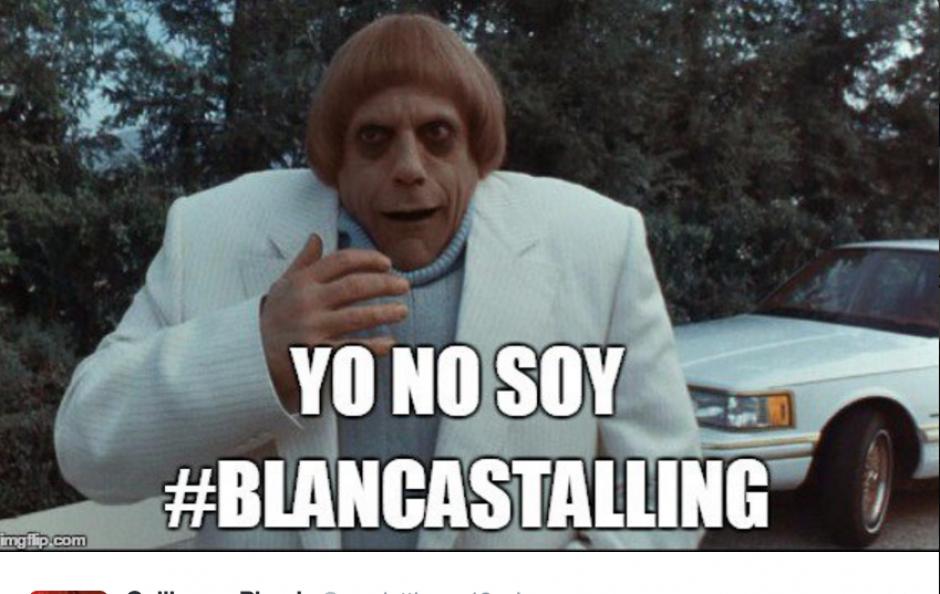 Blanca Stalling es la principal tendencia en Twitter. (Foto: Twitter)