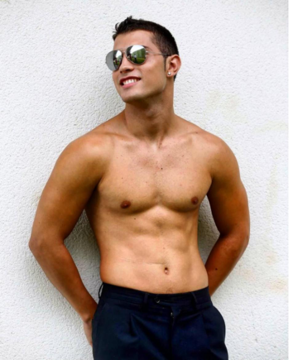 Su parecido con el portugués es innegable. (Instagram Diego Dávila)