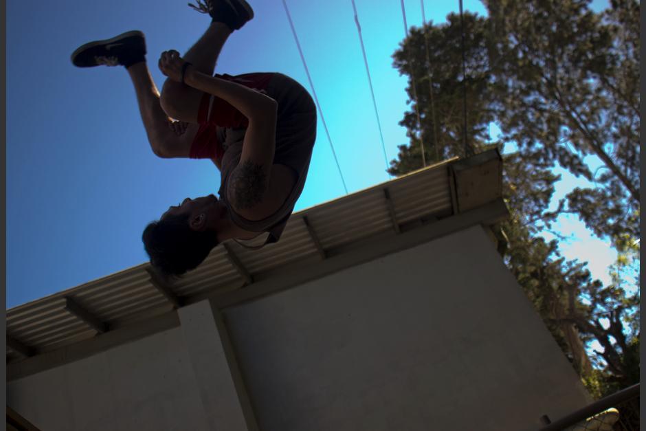 El parkour es muy utilizado en las películas de superhéroes. (Foto: José Dávila/Soy502)