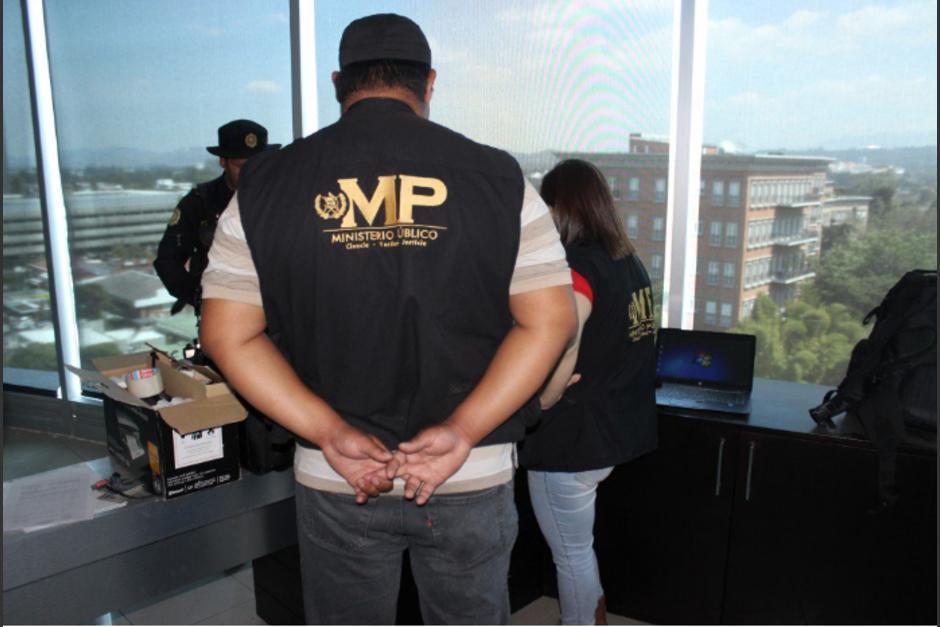 El Ministerio Público entregó a la Senabed una oficina relacionada a Monzón. (Foto: MP)