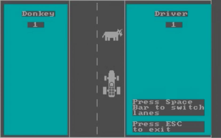DONKEY.BAS fue solicitado por IBM a Bill Gates en los años 80. ( Imagen: Captura de pantalla)