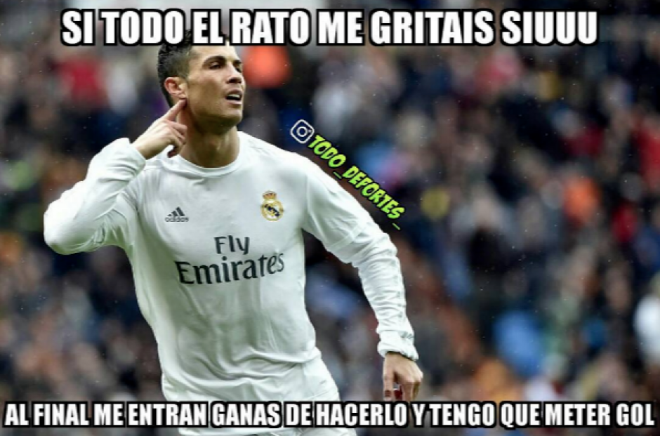 Que dice CR7 de la derrota del Madrid. (Foto: Twitter)