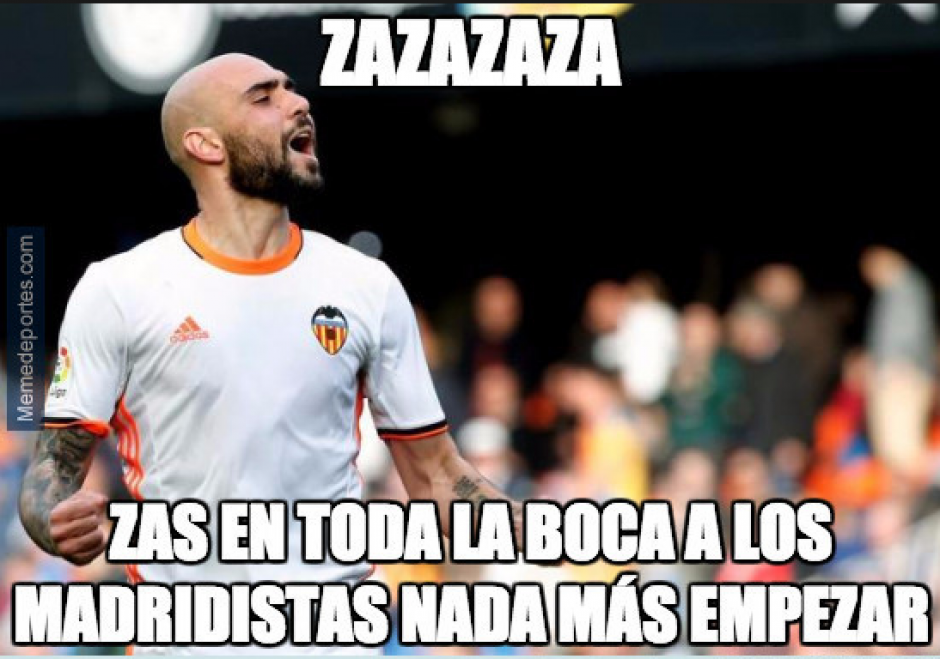 Zaza no pasó desapercibido. (Foto: Twitter)