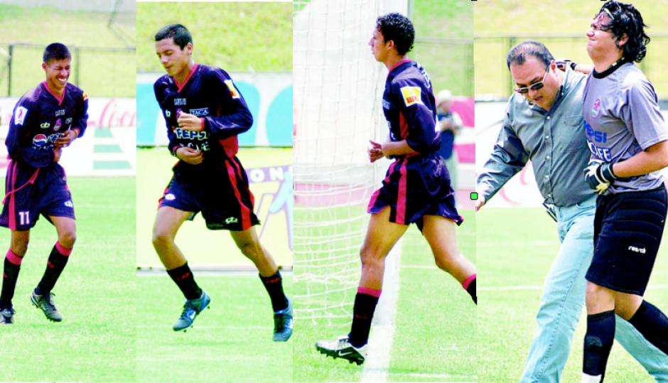 Luis Salazar, Óscar Hernández, Luis Valencia y el portero Francisco Sandoval salieron con dolencias estomacales. (Foto: Nuestro Diario)