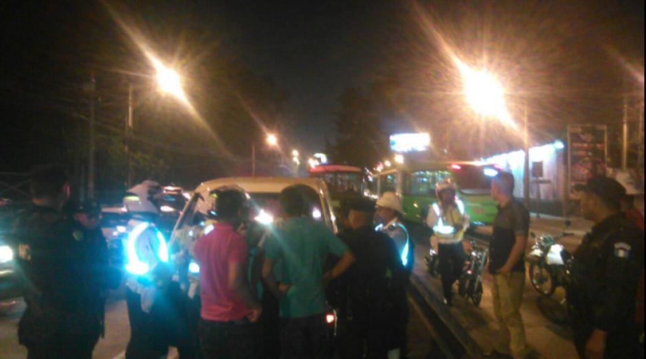 Luego del incidente un Policía Municipal resultó herido. (Foto: Dalia Santos)
