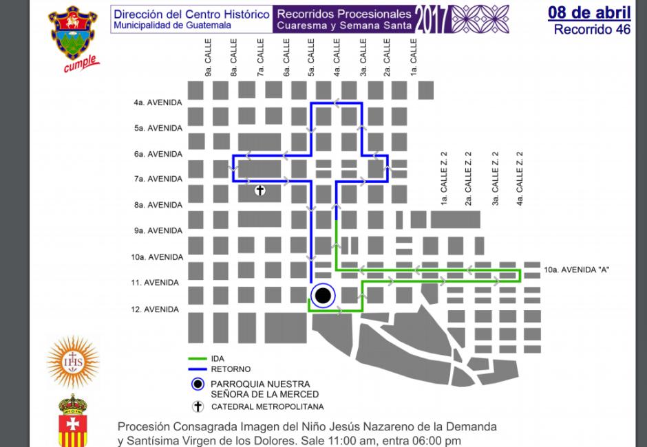 Estos mapas ayudan a los usuario a evitar ciertos sectores. (Foto: Muniguate)