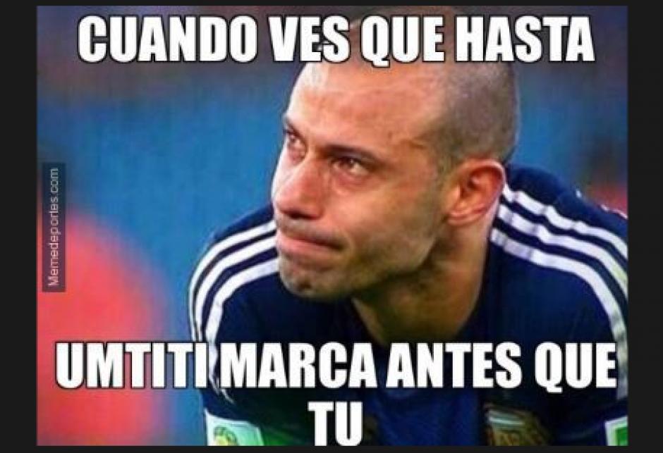 Mascherano sigue siendo el único jugador que no marca gol con el FC Barcelona. (Foto: El Comercio)