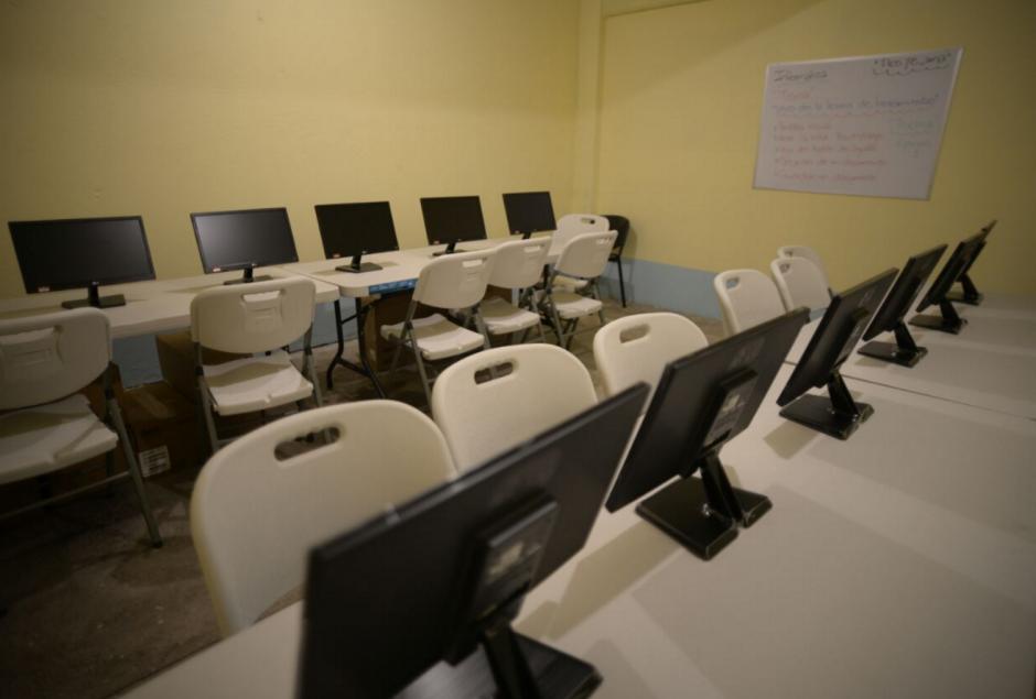 El centro también contará con equipo de computación. (Foto: Wilder L´ópez/Soy502