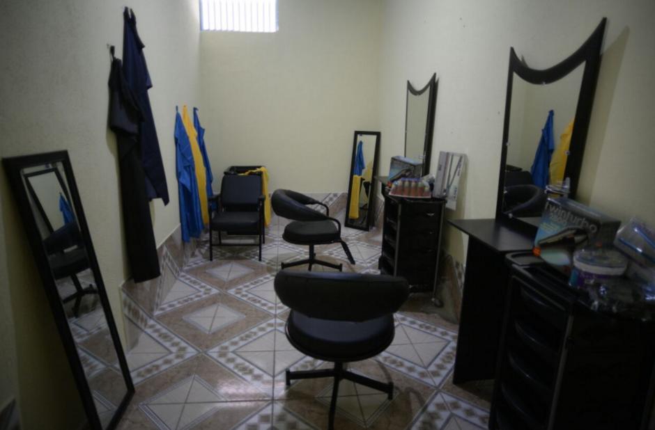 Habrá instalaciones para un salón de belleza, con el fin de aprender ese oficio. (Foto: Wilder López/Soy502)