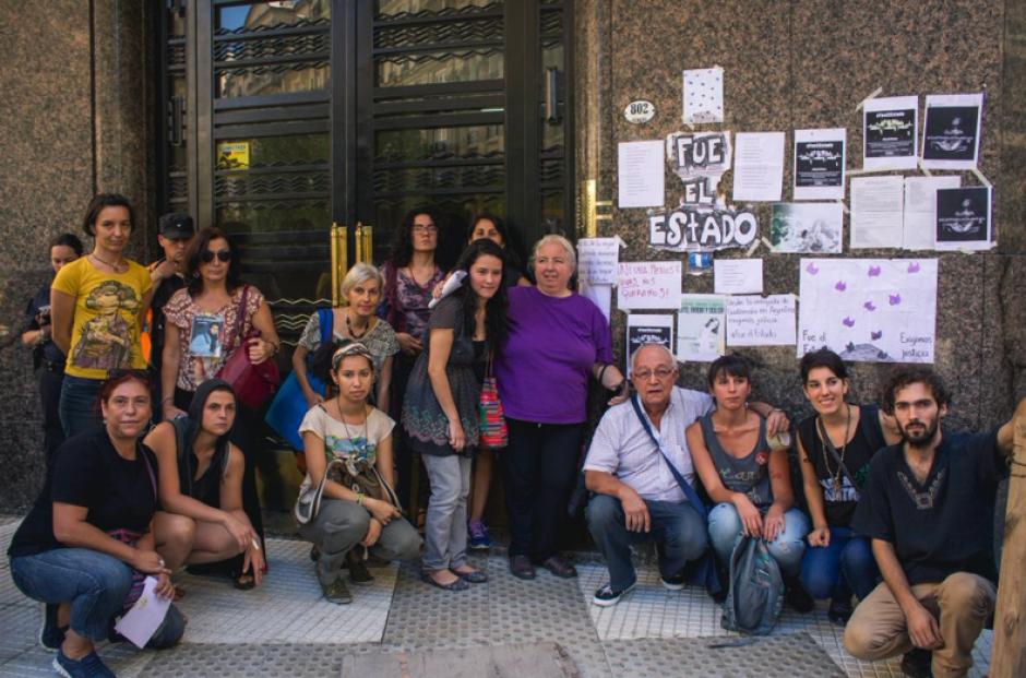 Guatemaltecos y centroamericanos se unieron en la protesta. (Foto: José López Ruano)
