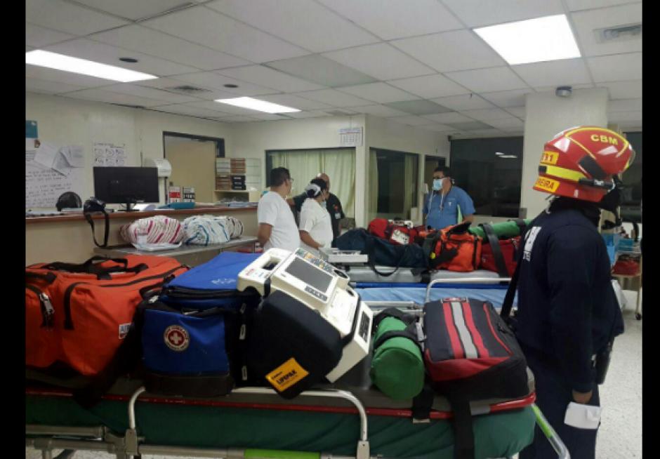 Las cuatro pacientes fueron llevadas a Texas. (Foto: Ministerio de Salud)
