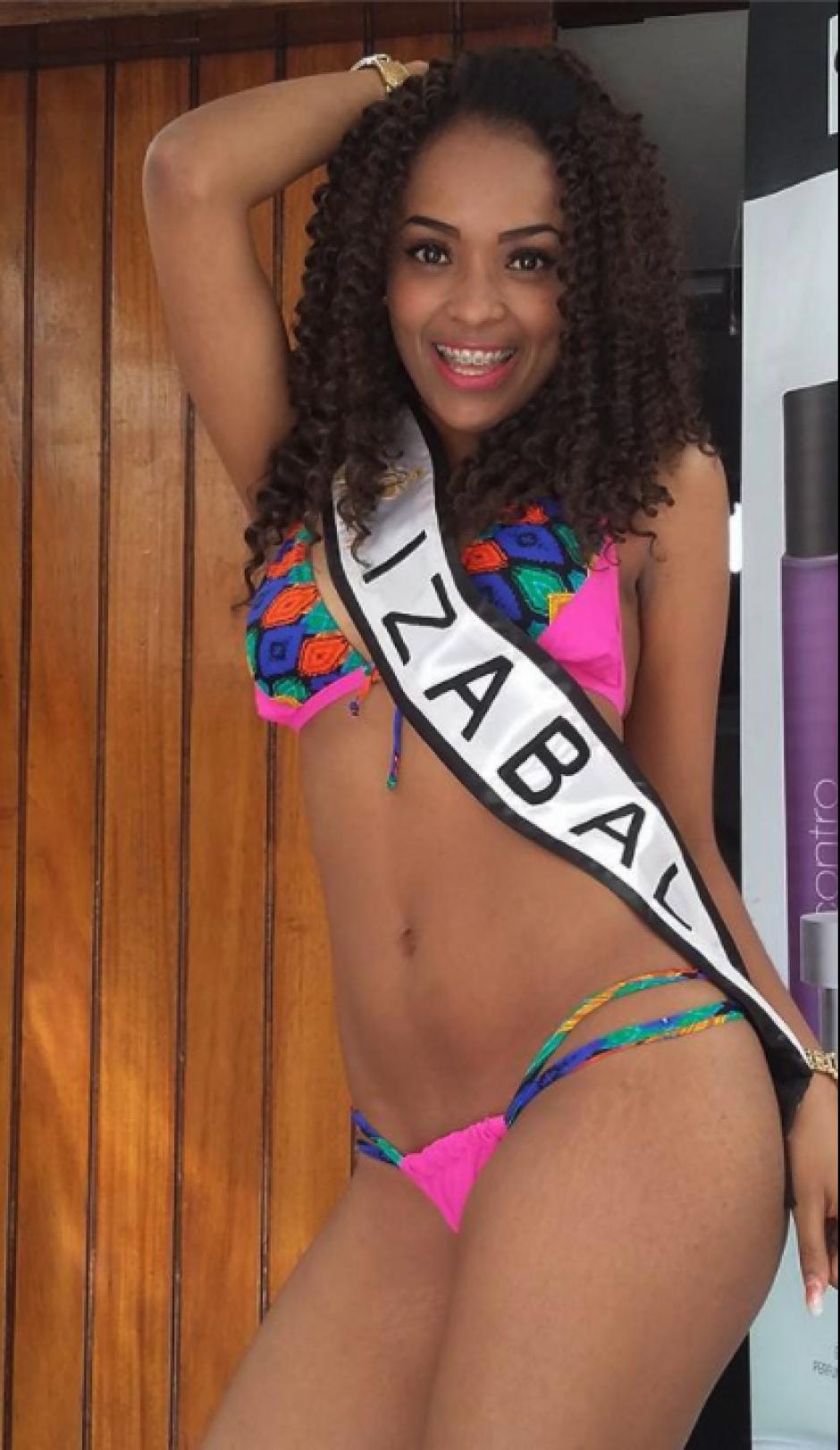 Ella representa a Izabal en dicho concurso. (Foto: Instagram/@nattleer)