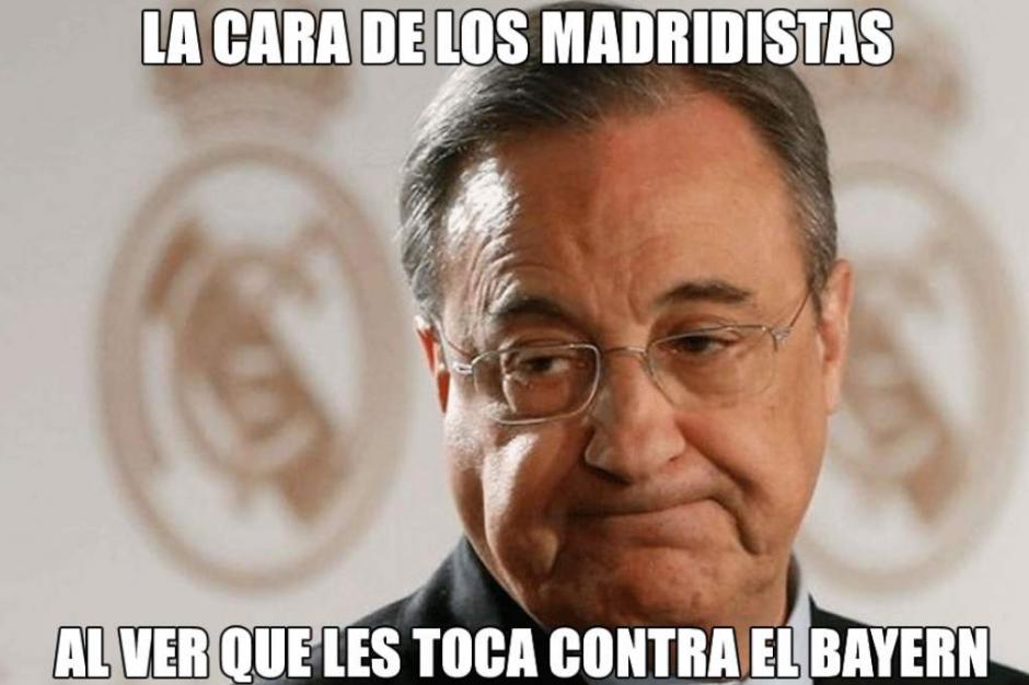 """No podía faltar Florentino Pérez y su """"reacción"""". (Foto: Twitter)"""