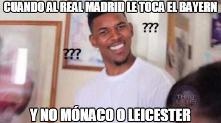 Esta fue la reacción de muchos espectadores que pensaban que al Madrid le tocaría un equipo fácil. (Foto: Twitter)