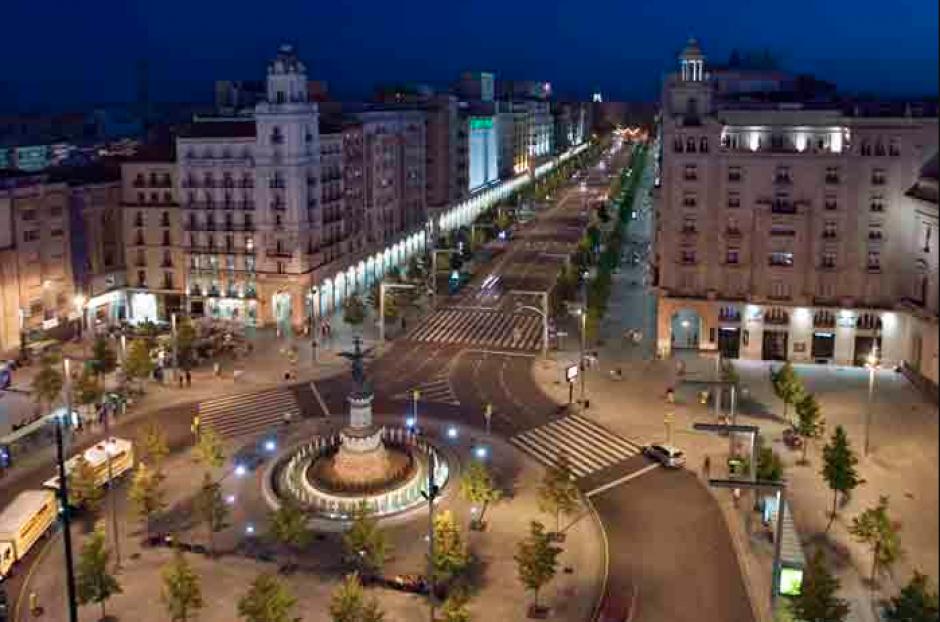 Su arte será expuesto en el Paseo de la Independencia, una de las arterias principales de Zaragoza. (Foto: Viajeteca.com)