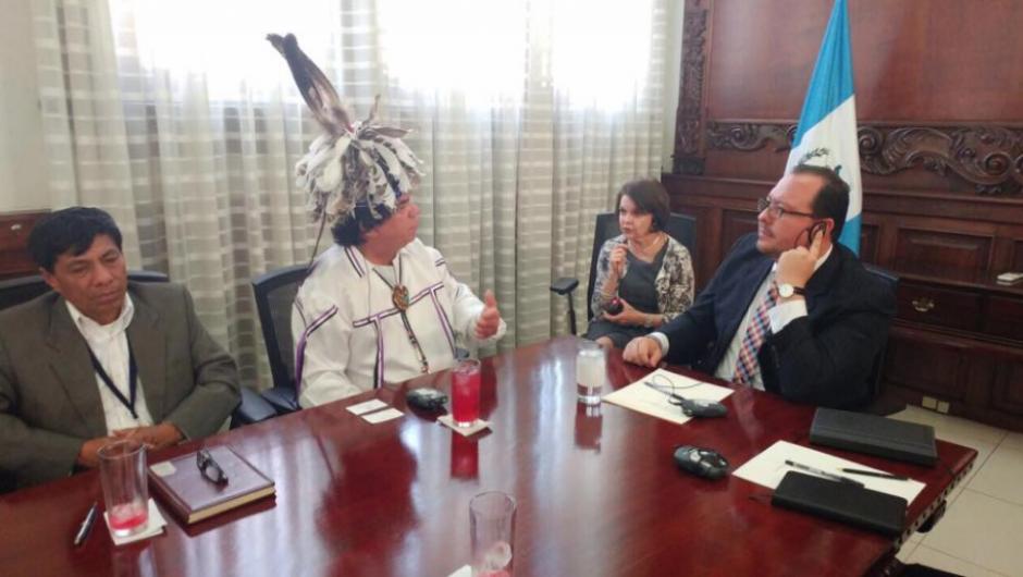 Se tenía prevista su reunión con el vicepresidente Jafeth Cabrera. (Foto: Vicepresidencia)
