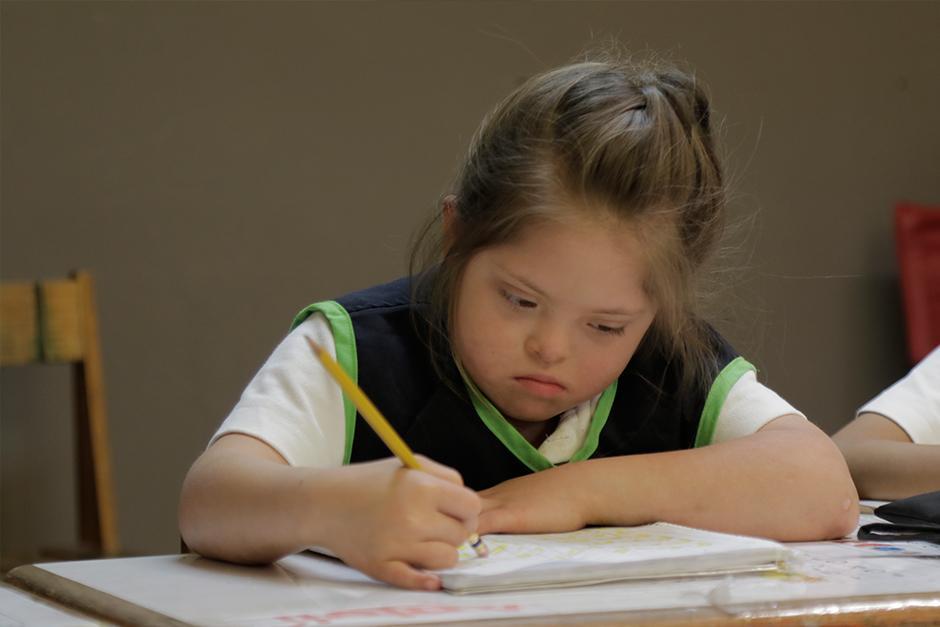 Margarita Tejada tiene diferentes programas de inclusión escolar. (Foto: Alejandro Balán/Soy502)