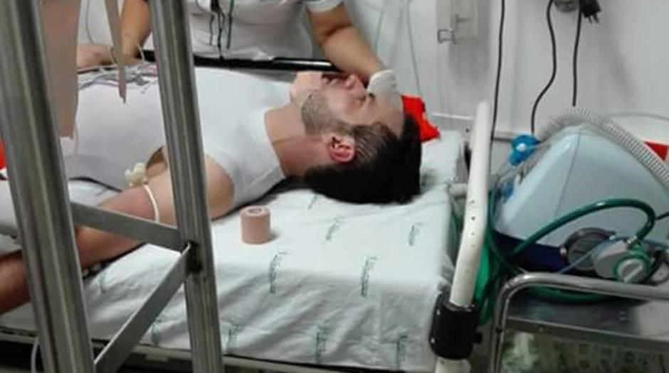 El guardameta permanece en un hospital. (Foto: zonacero.com)