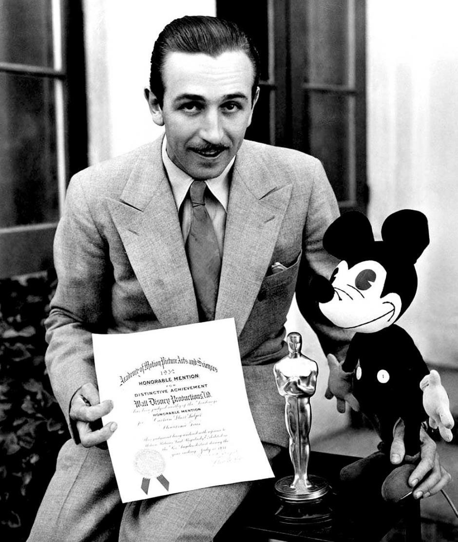 El creador de Mickey Mouse tuvo que adaptarse a los cambios en tecnología. (Foto: pastdaily.com)
