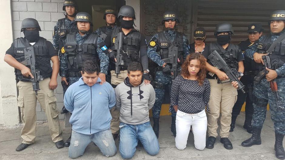 Los detenidos solicitaron 2 millones de quetzales para liberar al menor. (Foto: PNC)