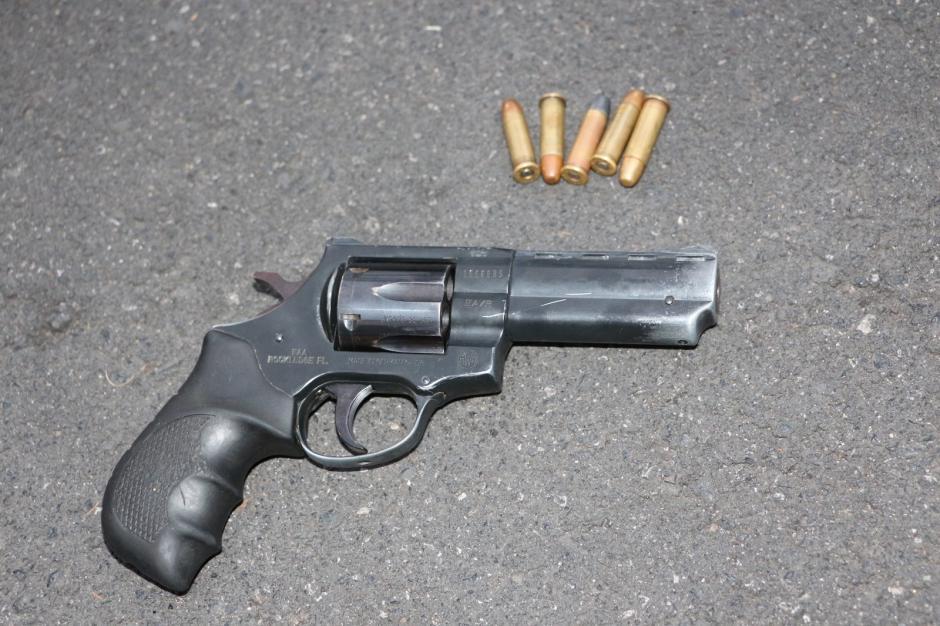Esta es el arma de fuego que fue decomisada. (Foto: PNC)