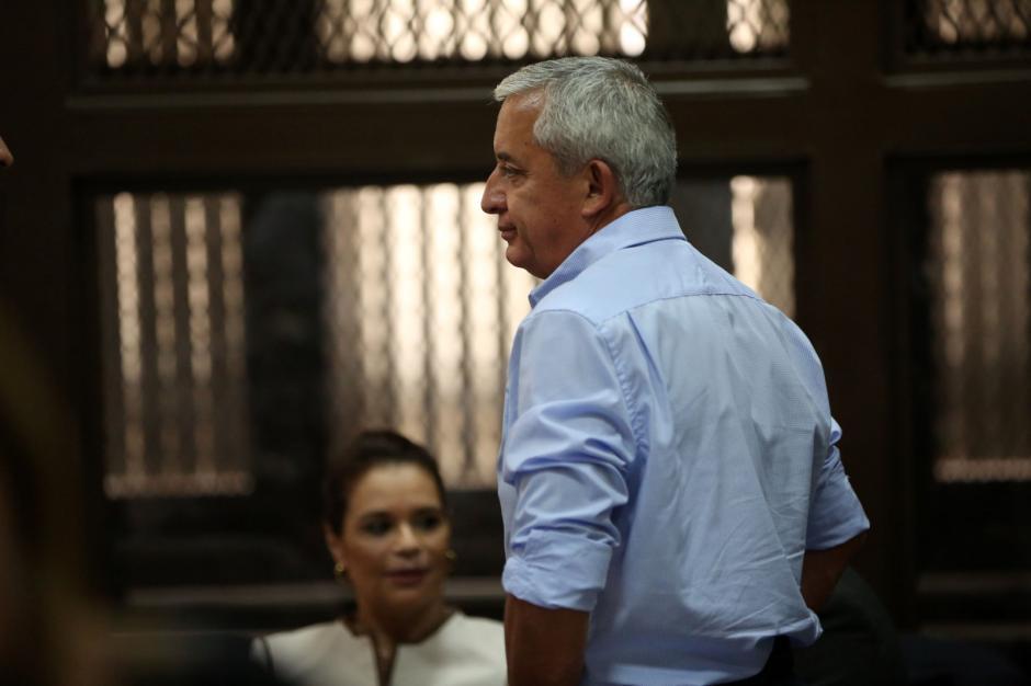 El exmandatario Otto Pérez Molina continúa defendiendo el contrato con TCQ.  (Foto: Wilder López/Soy502)
