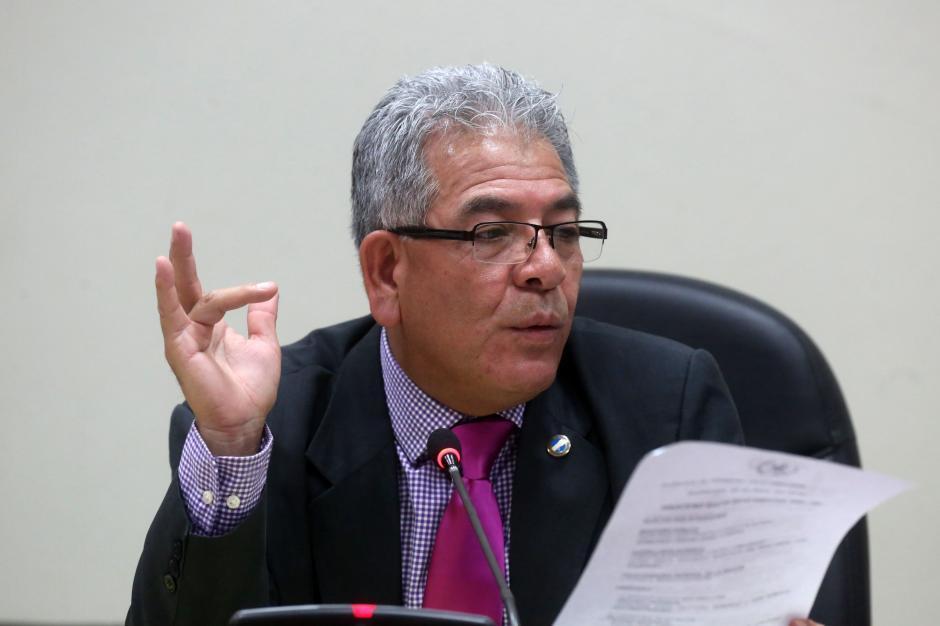 Hubo un receso en el que el juez estudió un recurso de apelación del abogado de Otto Pérez.  (Foto: EFE)