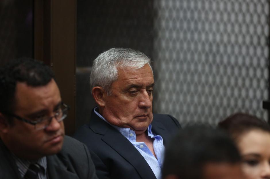 Este es el segundo proceso penal que enfrenta el exmandatario Pérez Molina. (Foto: EFE)
