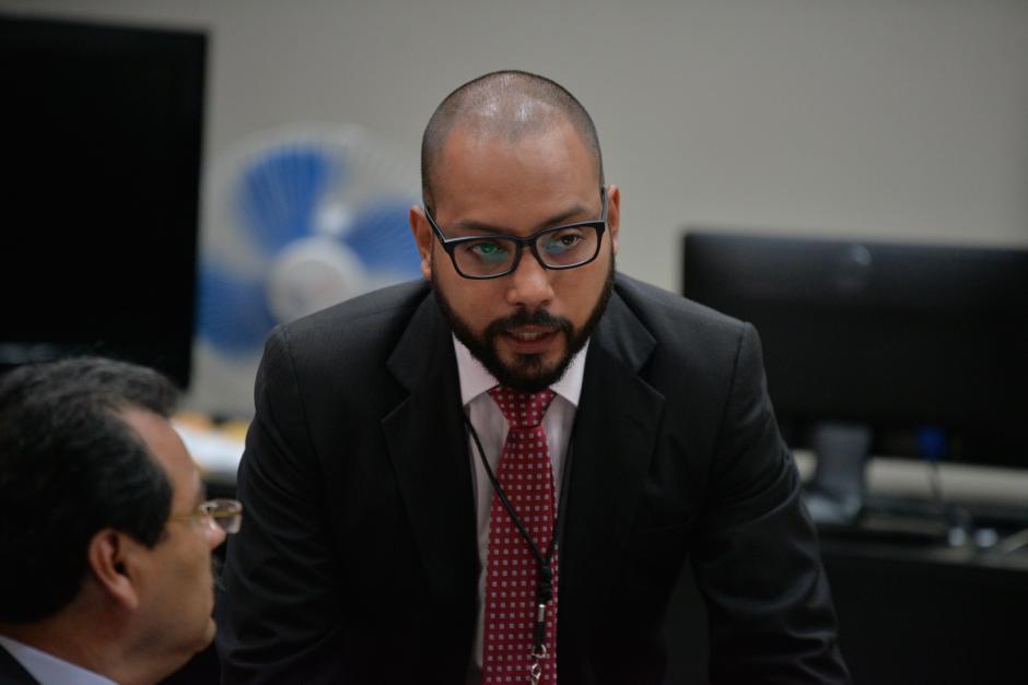 Fernando Guerra, nuevo abogado defensor de Baldetti. (Foto: Wilder López/Soy502)
