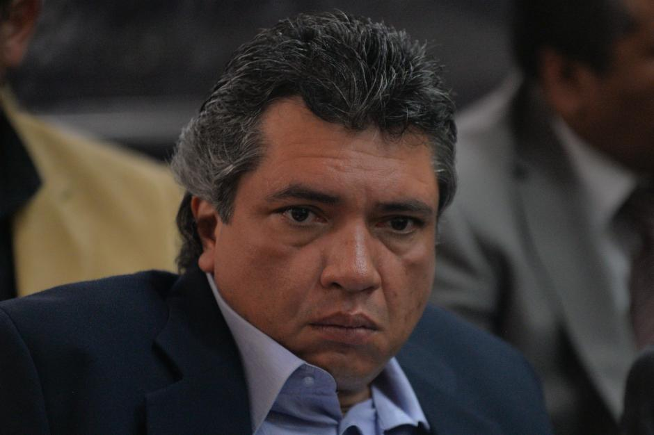 Gustavo Martínez, exsecretario privado y yerno del expresidente Otto Pérez Molina. (Foto: Wilder López/Soy502)