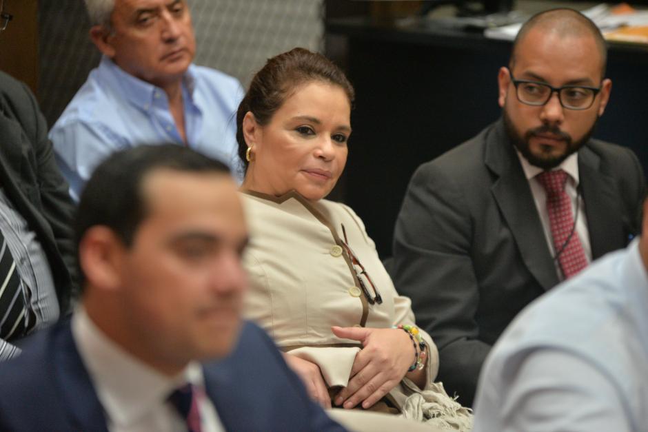 La exvicepresidenta está involucrada en el caso TCQ. (Foto: Wilder López/Soy502)