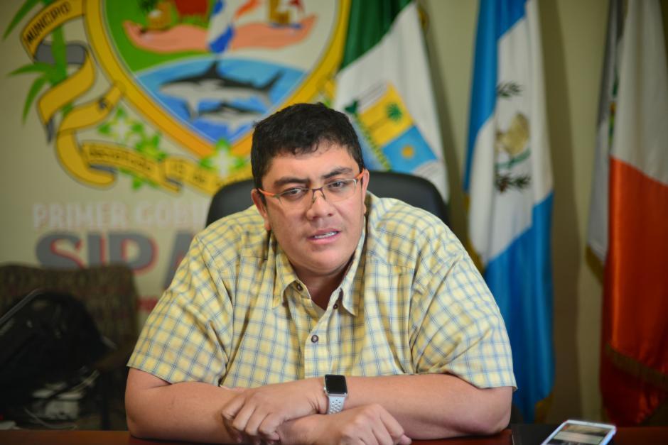 """El alcalde Walter Nájera considera que en el tema de seguridad """"estamos bastante frágiles"""". (Foto: Jesús Alfonso/ Soy502)"""