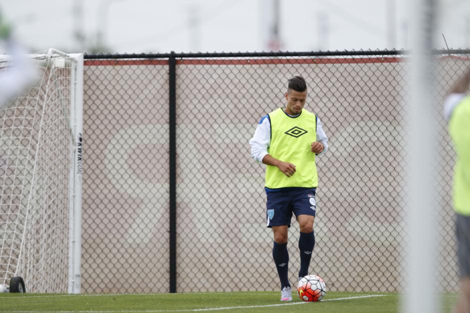 Stefano Cincotta es duda para el juego de debut de la selección de Guatemala en la Copa Oro. (Foto: Aldo Martínez/Nuestro Diario)