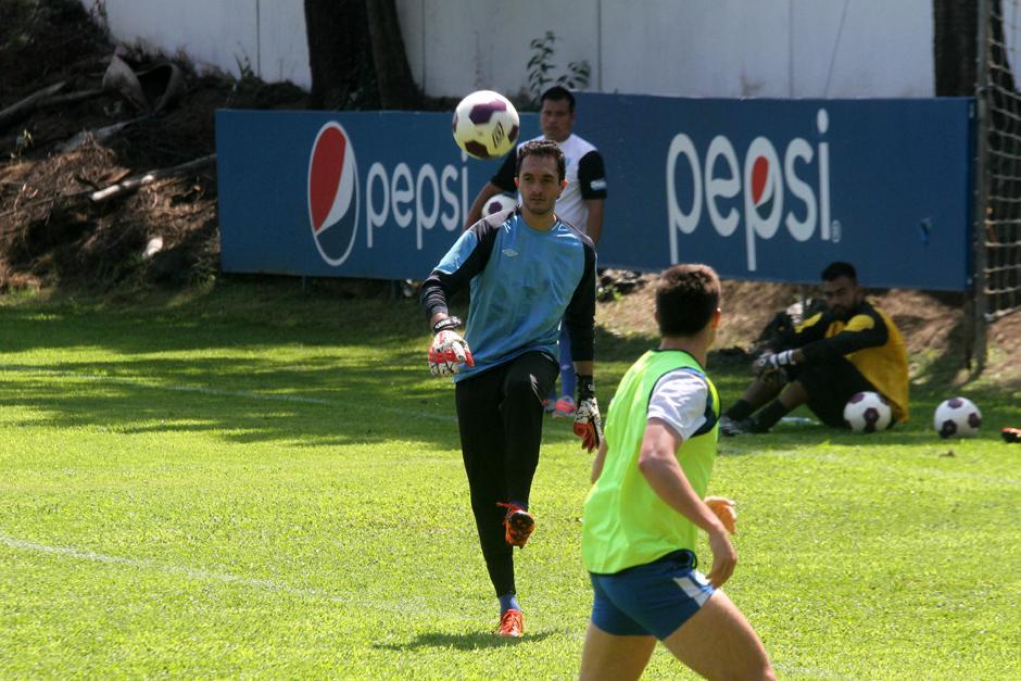"""Ricardo Jerez realizó este miércoles su primer entreno en la """"era Claverí"""". (Foto: Luis Barrios/Soy502)"""
