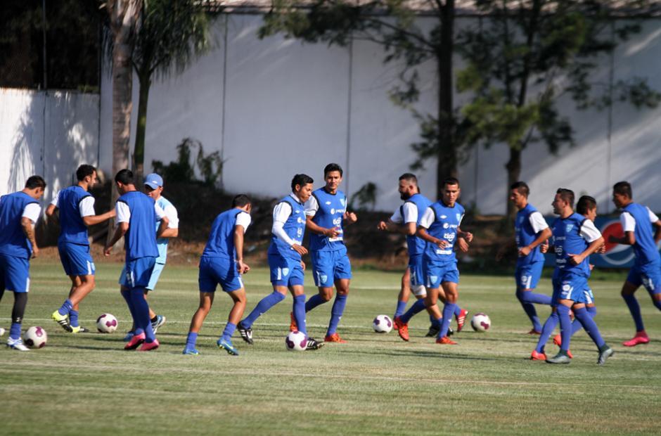 El grupo de selecionados se entrena en el Proyecto Goal. (Foto: Luis Barrios/Soy502)