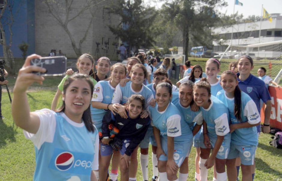 Selección femenina preolímico houston 2016 foto