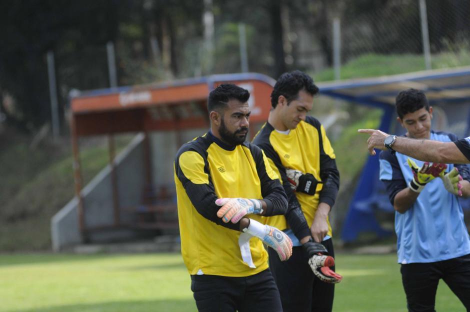 Paulo César Motta se perfila como el portero titular de la Selección.  (Foto: Pedro Pablo MIjangos/Soy502)