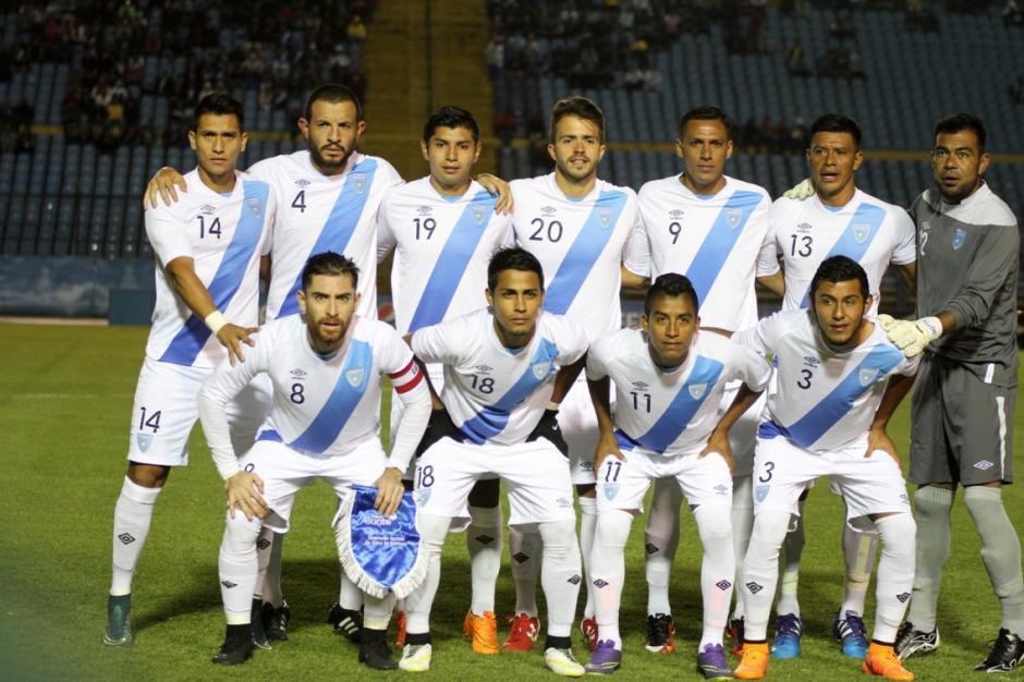 El 11 titular de Claverí para enfrentar a Honduras. (Foto: Luis Barrios/Soy502)