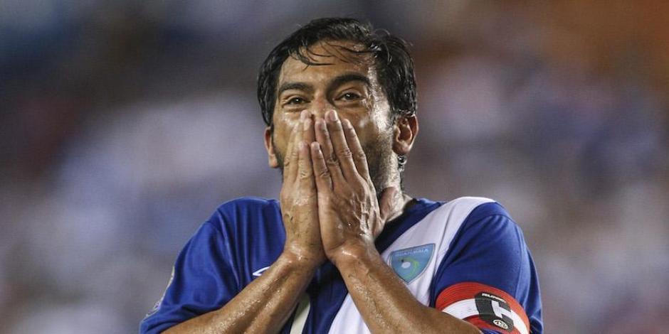 Ruiz es el máximo artillero de la Selección Nacional de Fútbol. (Foto: Archivo/Soy502)