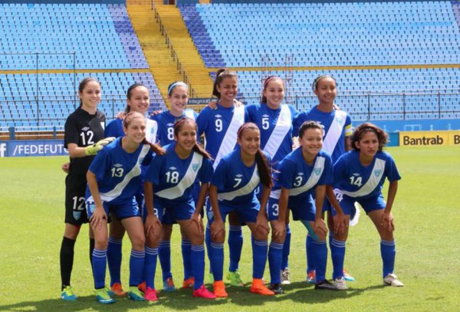 Selección sub17 femenina premundial Granda 2016