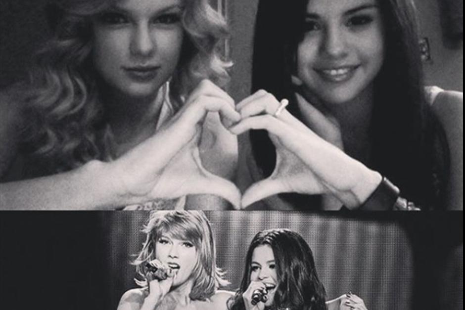 Selena dejó atrás a su amigaTaylor Swift. (Foto: Instagram)