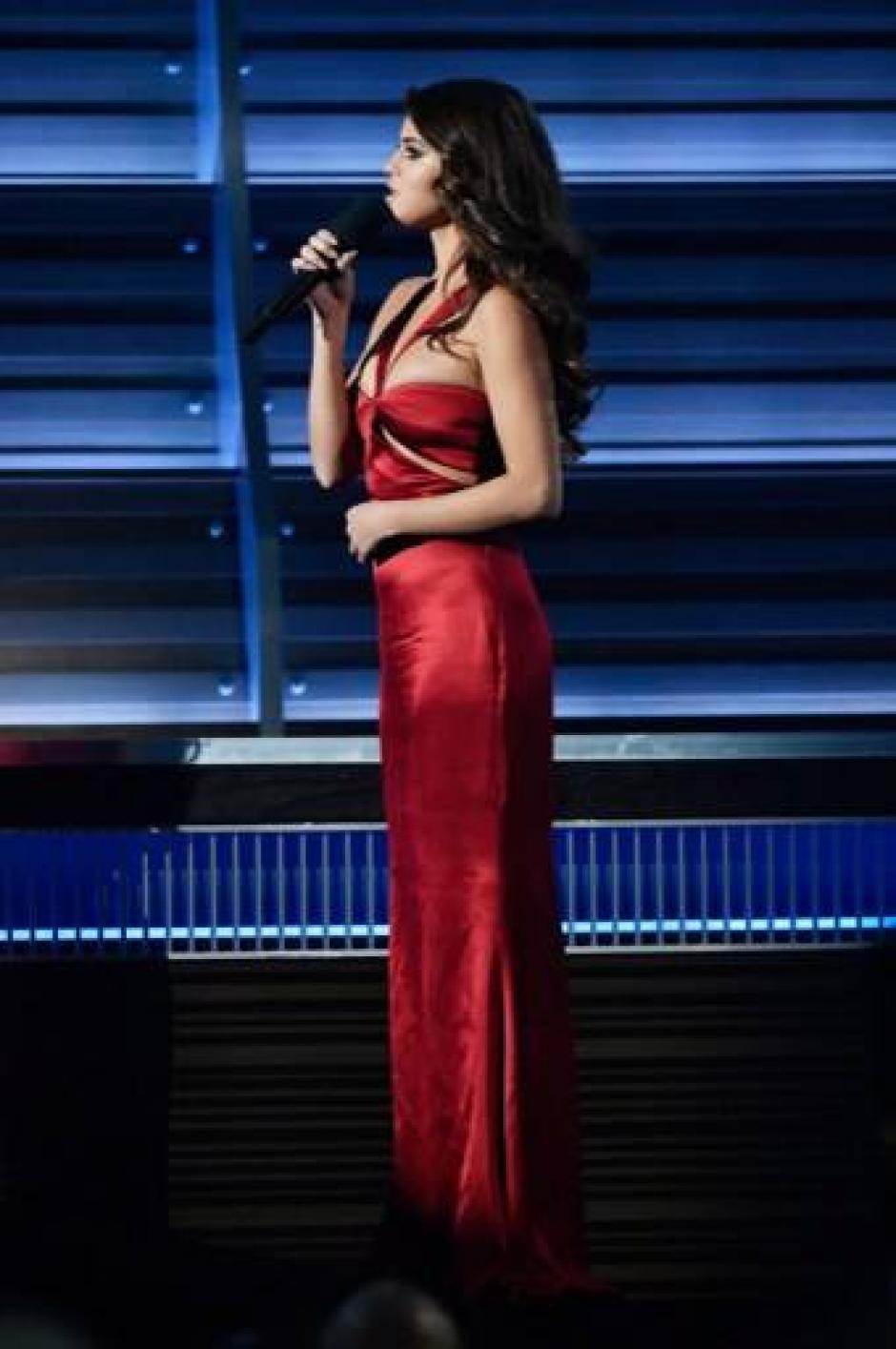 Selena Gomez robó suspiros en escena. (Foto: AFP)