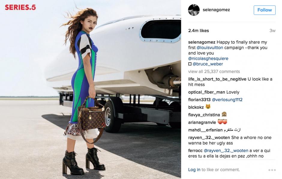 También muestra algunas de sus campañas favoritas. (Foto: Instagram)