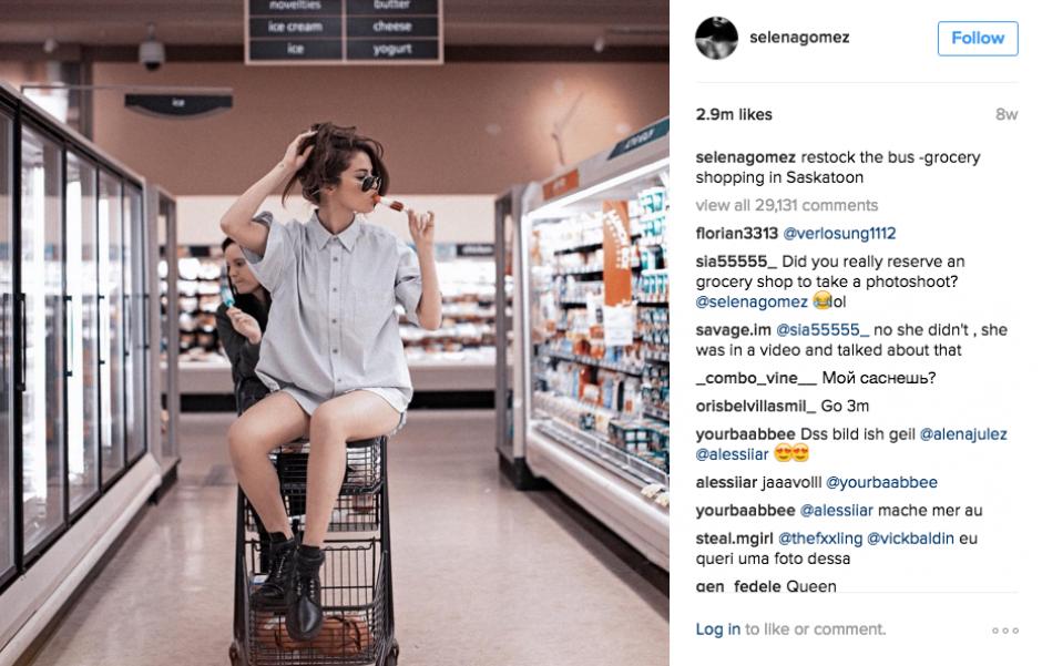 También afirma que un amigo fotógrafo la ayuda con las imágenes. (Foto: Instagram)