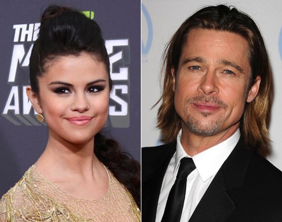 Existen los rumores de que el motivo del rompimiento de Brangelina fue por Selena Gomez. (Foto: US Hola)